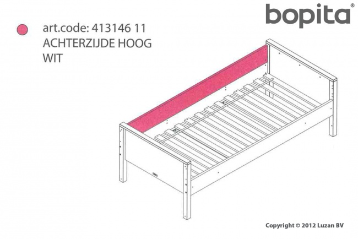 Bopita Achterzijde Recht Combiflex Wit 41014611