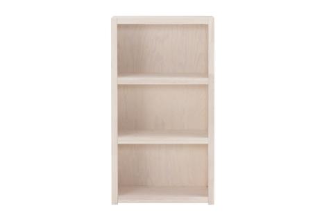 Een prachtige Lifetime boekenkast (white wash) met 3 vakken. Deze degelijke, whitewash boekenkast is gemaakt van massief grenenhout (knoestvrij).