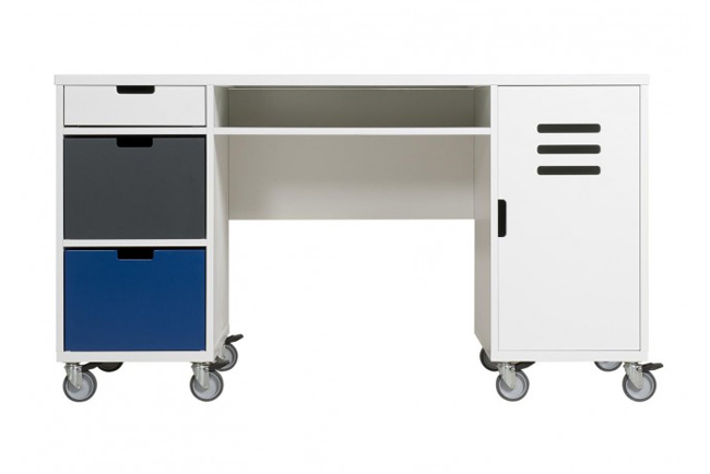 Bureau Mix & Match Locker Wit (Excl. 2 Bakken 5946Xx)