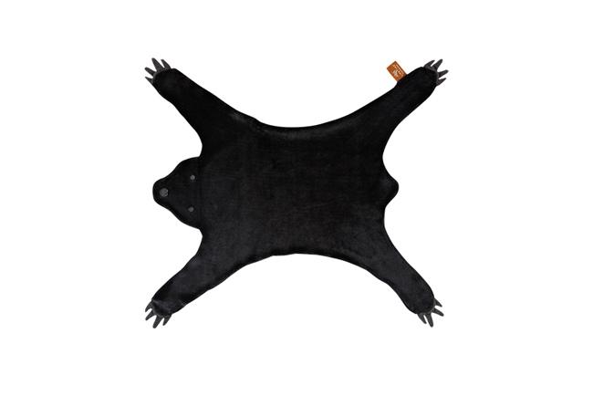 Vloerkleed zwarte beer