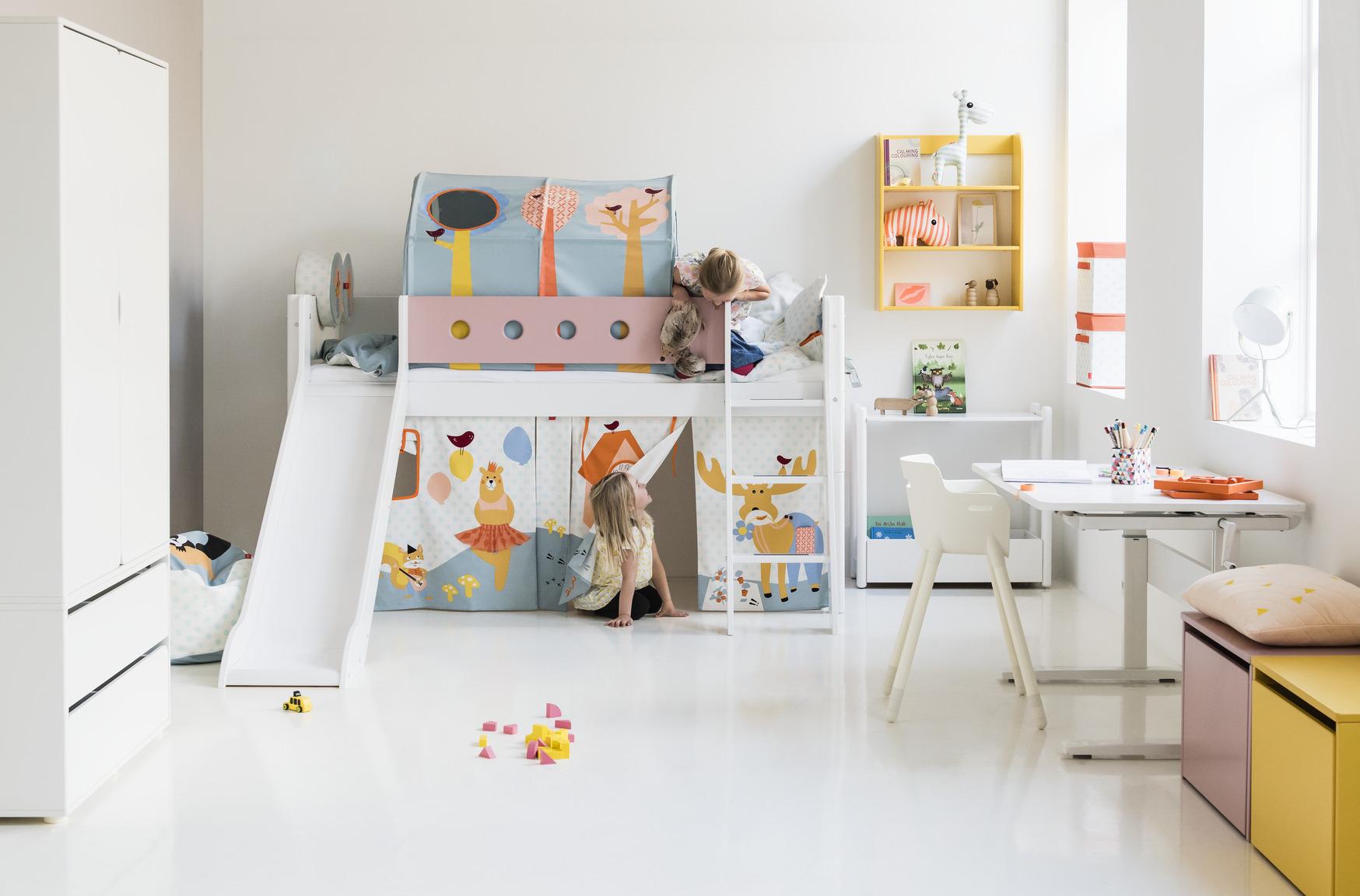 flexa bed halfhoogslaper hoogslaper stapelbed. Black Bedroom Furniture Sets. Home Design Ideas