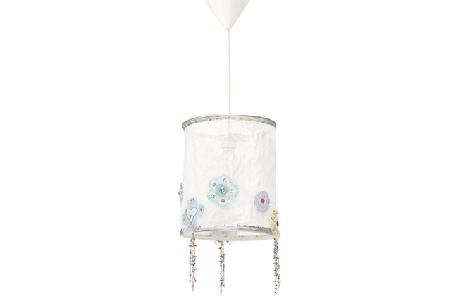 Lamp Silversparkle Lifetime