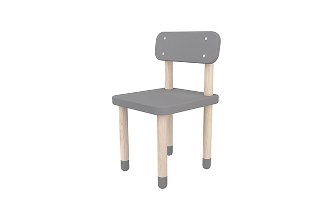 Flexa Play stoel grijs