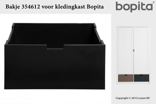Bopita Bakje Medium Zwart