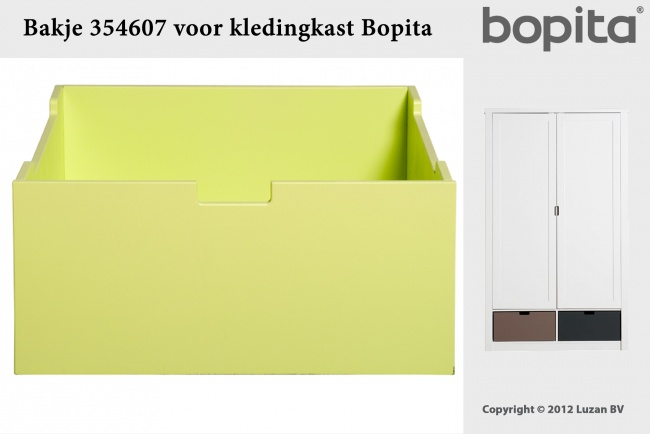 Bopita Bakje Medium Lime
