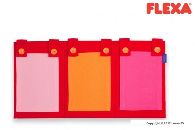Flexa Tijdschriftentas met 3 vakken