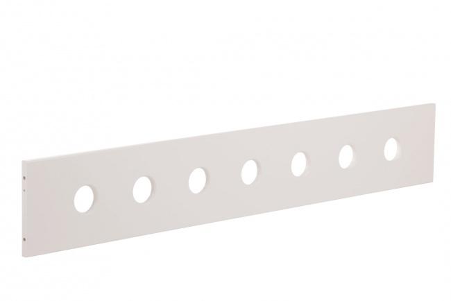 Uitvalbeveiliging glijbaanbed wit