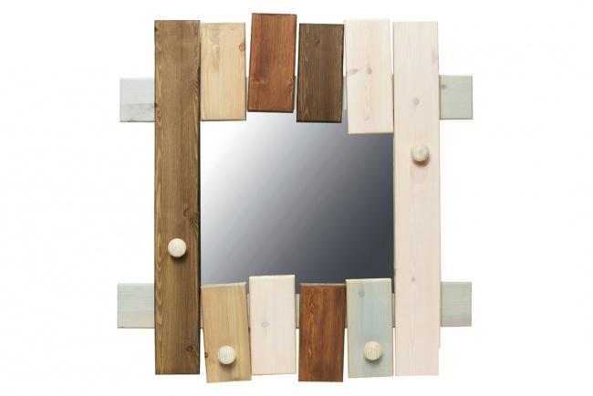 Stoere kinderspiegel uit de Lifetime Boomhut-collectie. Met deze spiegel maakt u uw Boomhut kinderkamer helemaal af.