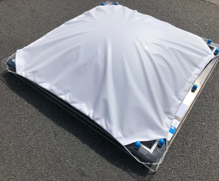 Zonnedoek Bolvormig vierkant 80x80cm